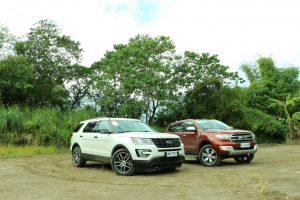 Ford SUV Explorer and Territory