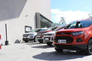 Ford SUV Range