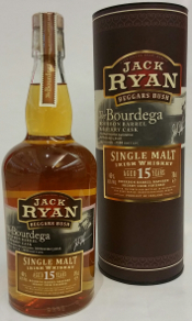 Jack Ryan 15yo Bourdega Irish Whiskey