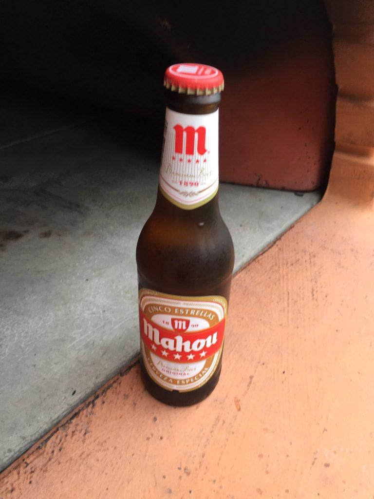 MAHOU 5 STAR BEER