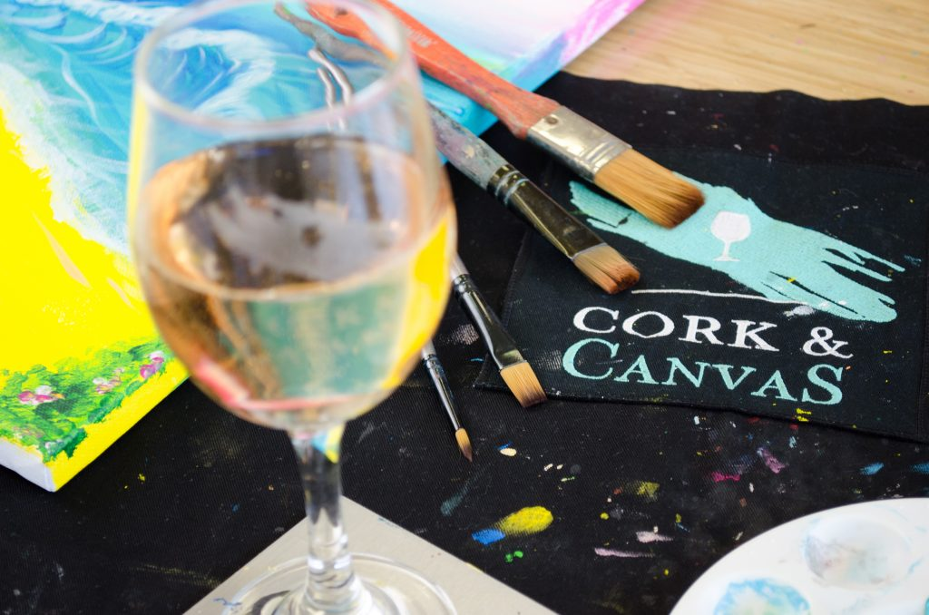 Cork & Canvas Date Night