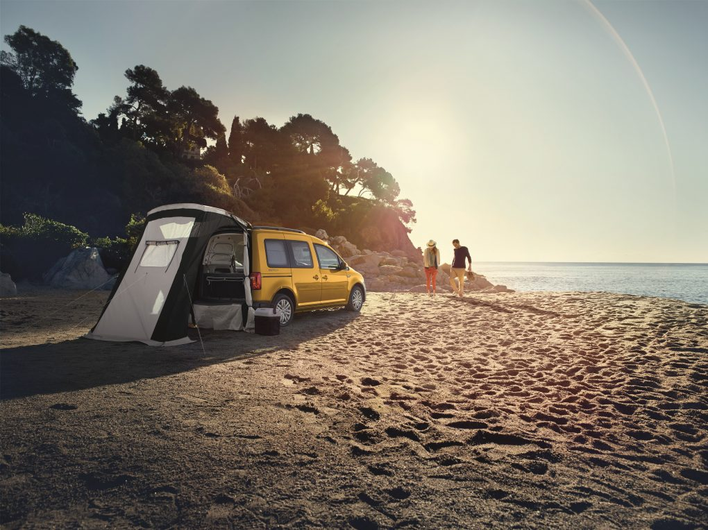 Volkswagen Caddy Beach campervan