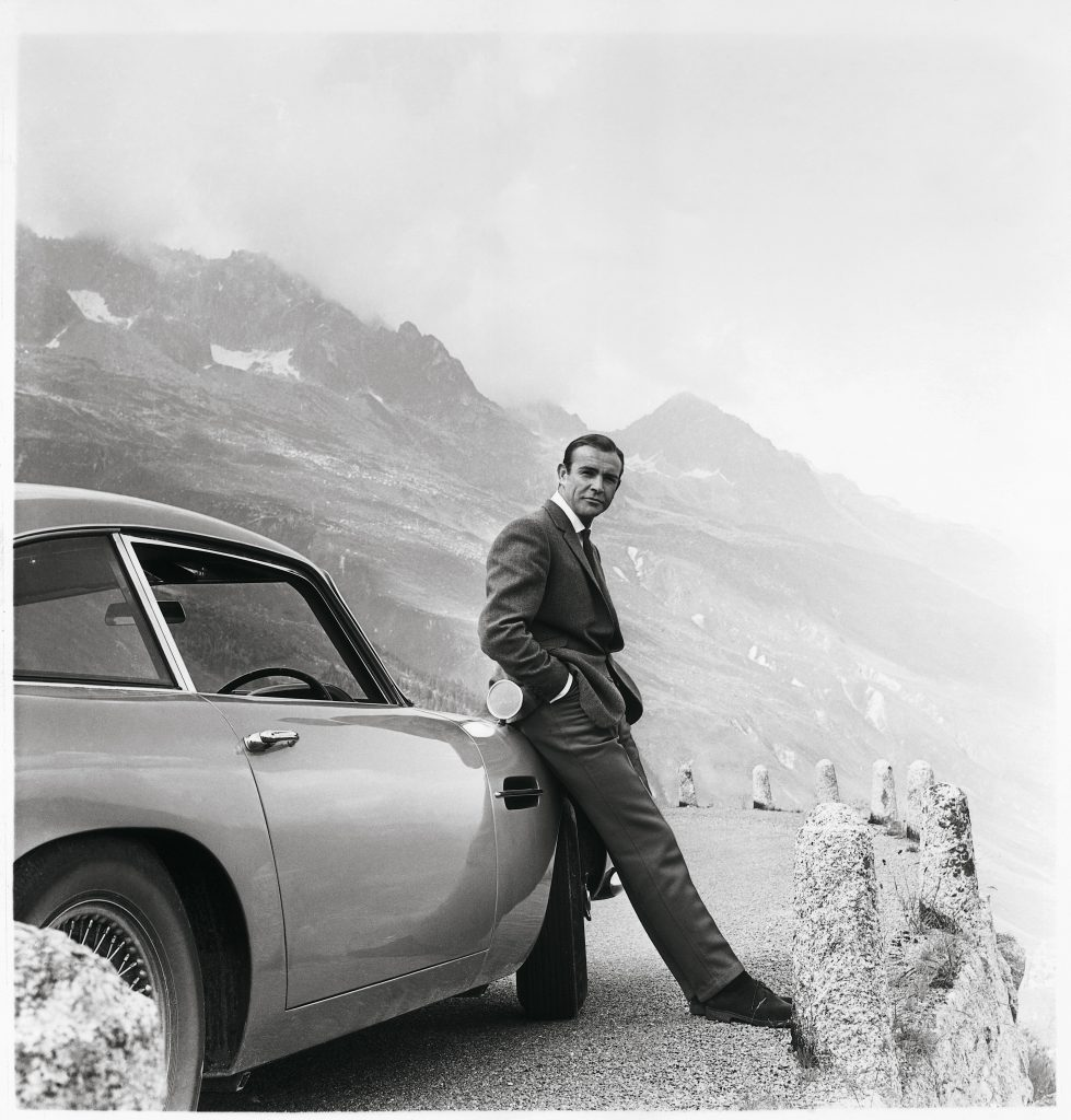 Aston Martin James Bond Car